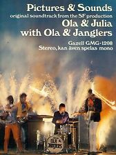 """IMÁGENES & SOUNDS FROM OLA & JULIA WITH OLA & JANGLERS 12"""" LP FOC (L7213)"""
