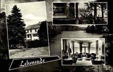 Lehmrade MÖLLN Lbg. AK 1967 Mehrbildkarte Haus Spezialabteilung Terrasse Gebäude