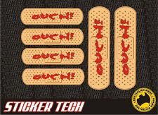 BANDAID BANDAGE BAND AID OUCH DRIFT DAMAGE STICKER DECAL 6 PACK SUIT S13 S15 R32
