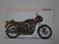 - RITAGLIO DI GIORNALE 1982 MOTO MORINI 500 SEI-V