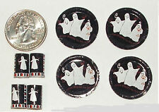 Dollhouse Miniature Halloween Ghost Plates Cups 1:12 in Scale H88 Dollys Gallery