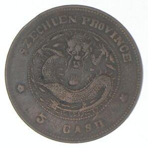 1903-1904 China - Szechuan Province - 5 Cash - TC *631