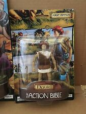 "David Action Bible First Edition Figurine, Jointed, 4.75"" tall,"