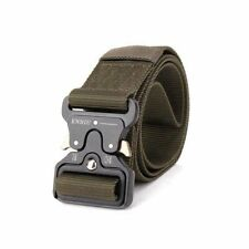 Tactical Nylon Army Duty Belt Men US Military Metal Buckle Waist Strap Airsoft