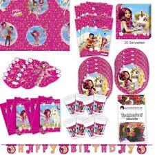 Mia and me Party Set XL 63-teilig für 6 Gäste Miaparty Geburtstag Deko