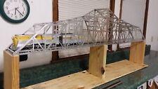 """Model 1910' bridge, replica model KIT  """"O"""" Gauge single Track  Nice!!  IN STOCK"""