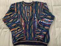 Tundra Canada Colorful Sweater XL