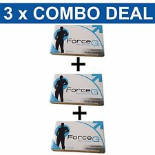 Force G Mens Premature Ejaculation Delay Sex Pills More Control Longer Sex 18pk