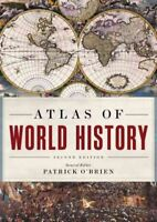 Atlas of World History, Hardcover by O'Brien, Patrick (EDT), Brand New, Free ...