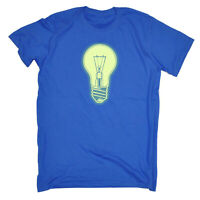 Funny Kids Childrens T-Shirt tee TShirt - Light Bulb Glow In The Dark