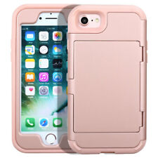 Women Girl Mirror Phone Case with Credit Card Holder For iPhone 6 Plus / 6s Plus
