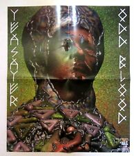 Yeasayer *Odd Blood* 2 Sided Promo Poster *RARE* All Hour Cymbals End Blood