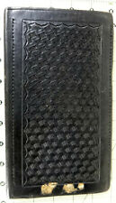 Vintage 1980s POLICE PNB traffic notebook leather cite citation book LAPD book
