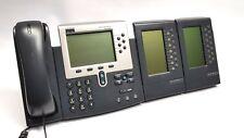 CISCO IP Phone 7960 Systemtelefon + 2 x 7914 Keymodule TOP!!