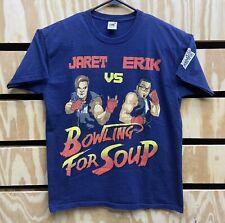 Bowling For Soup Rock / Pop Band Music Jaret Vs Erik T-Shirt Size Large (42)