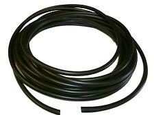 8mm BLACK flexible PVC Sleeve / Sleeving /Tubing - 10 metres