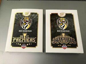 2017 & 2019 AFL Select Premiers sets of 25 cards: Richmond Tigers