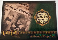 Harry Potter and the Sorcerer's Stone The Daily Prophet Prop Card HP SS Variant+
