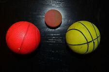 3 Gummibälle, 1 Flummi und 2 Basketballgummibälle