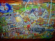 *MIKE JUPP - I LOVE AUTUMN* GIBSONS 1000 PIECES JIGSAW PUZZLE. NEW!
