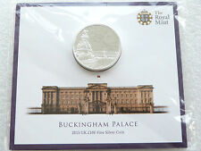 2015 British Buckingham Palace £100 Pound 999 Silver 2oz Coin Pack