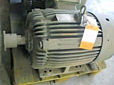 TOSHIBA 20HP 3PH 1175RPM 230/460V 52/26A TEXP 324T FRAME USED-RECONDITIONED