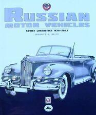 LIVRE/BOOK : VOITURE RUSSE 1930-2003 (russian cars,soviet limousines,automobile