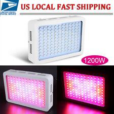New listing 2Pcs 1200W 120Led Grow Light Hydroponic Full Spectrum Indoor VegPlant Lamp Panel