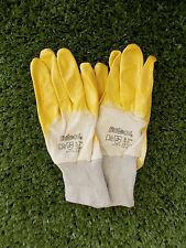 1 Paar Soleco Nitril Schutzhandschuh Innenhandbeschichtet Größe 10