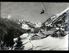 FOPPOLO (ITALIE) TELESIEGE à l'AUBERGE DALMINE en 1963