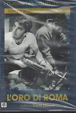 Dvd **L'ORO DI ROMA** di Carlo Lizzani nuovo 1961