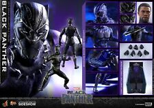 Hot Toys Marvel BLACK PANTHER 1/6 Scale Figure 903380 MMS470 Boseman led Light