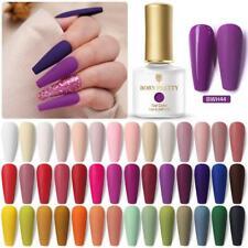 BORN PRETTY Solid Color UV Gel Nail UV Gel Polish Soak off Gel Nail Polish Salon