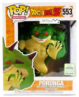 New Funko Pop Dragonball Z 6 Inch Porunga #553 Eccc Shared Exclusive In hand