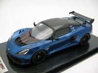 1/18 scale Tecnomodel Lotus Exige 380 Cup Metallic Blue 2018 TM18-112A