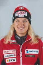DENISE FEIERABEND Olympia 2018 Alpin CHE Foto 20x30 signiert IN PERSON Autogramm