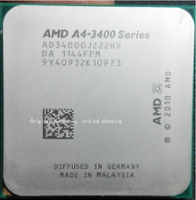 AMD A4-Series A4-3400 2.7 GHz 1M CPU Processor AD3400OJZ22HX Socket FM1