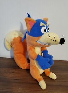 "Dora the Explorer TALKING SWIPER 10"" Plush Fox Fisher Price 2001 Stuffed Animal"