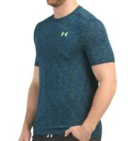 NWT UNDER ARMOUR AUTHENTIC MEN'S NAVY CREW NECK SHORT SLEEVE T-SHIRT SIZE L