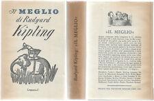 Kipling Rudyard IL MEGLIO Il Meglio / 4 Longanesi 1953