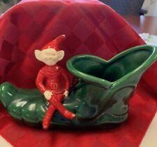Vintage Pixie Elf Planter