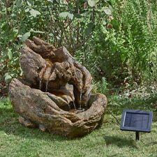 Wychwood Falls Solar Water Feature- Smart Garden Products
