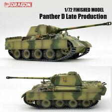 DRAGON WWII GERMAN Panther D Late Production 1/72 tank model finished