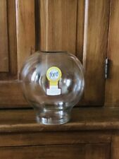 Old New Stock Ford Gum Machine Glass Globe with Fired Into Glass Decal