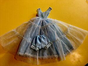 Lilli Lalka REPRO Blue Ballgown