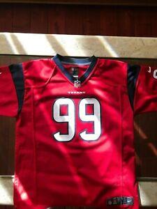Houston Texans #99 JJ Watt Nike Jersey, Large 14/16
