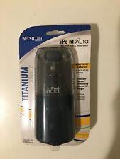 New Westcott Ipoint Aura Electric Pencil Sharpener Titanium Bonded Non Stick