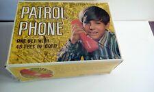 Vintage Toy telephones.