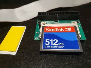 Acorn Archimedes A4000/A5000/A7000/RISC PC - loaded CF card and adapter kit