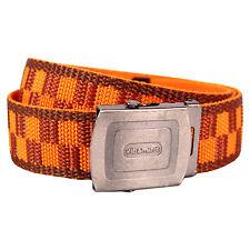 Estampado Cinturón - Naranja y Granate Retro Diseño de Moda